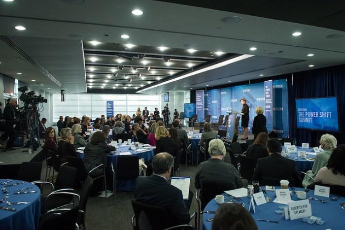 Freedom Forum Institute power shift summit, Jan. 2018.