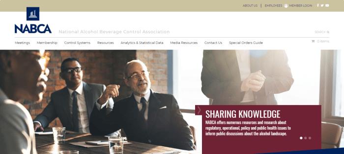 NABCA homepage