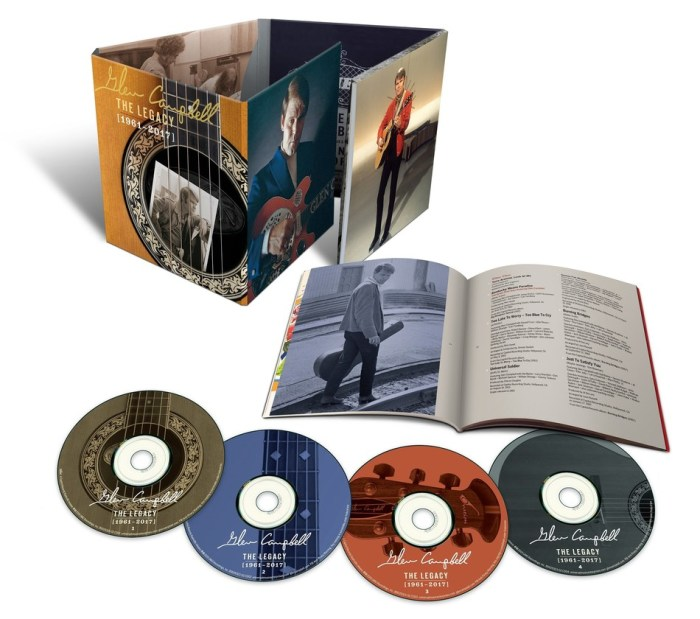 Glen Campbell - The Legacy 1961-2017 4 disc box set