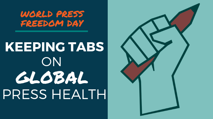 World Press Freedom Day: Keeping Tabs on Global Press Health