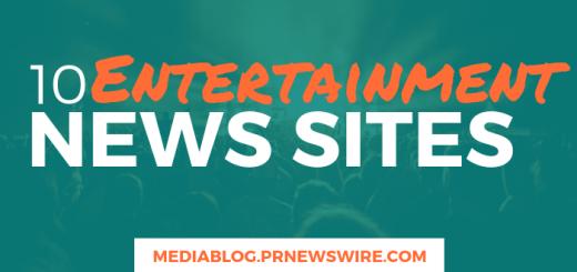 10 Entertainment News Sites - mediablog.prnewswire.com