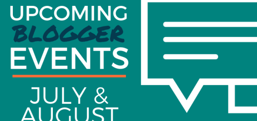 Upcoming Blogger Events: July and August