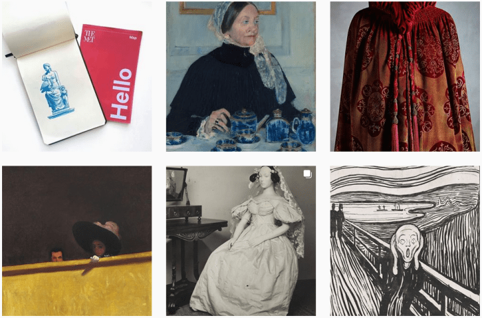 Art Museum Blogs We Love - @metmuseum on Instagram