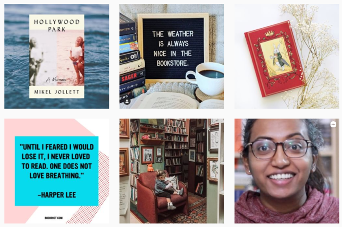 Book Blogs We Love - @bookriot on Instagram