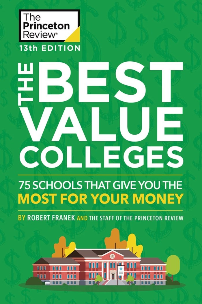 On PR Newswire - 2/7/20 - Princeton Review Best Value Colleges 2020