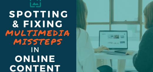 Spotting and Fixing Multimedia Missteps in Online Content