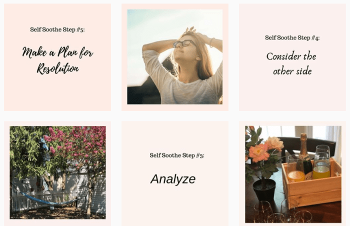 Self-Care Blogs We Love - @selfcarepursuit on Instagram