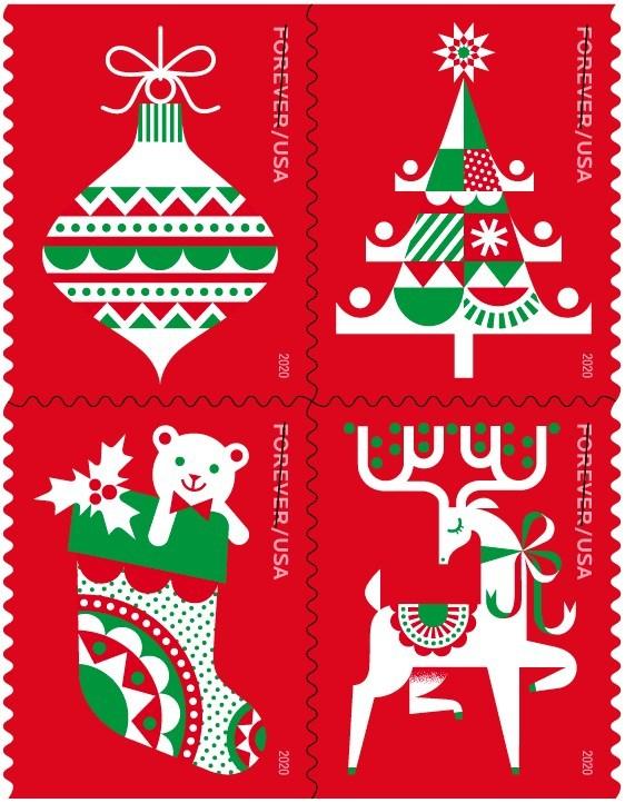 USPS Holiday Forever Stamp 2020