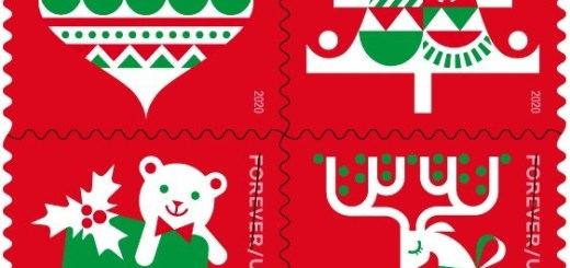 USPS Holiday Forever Stamp 2020