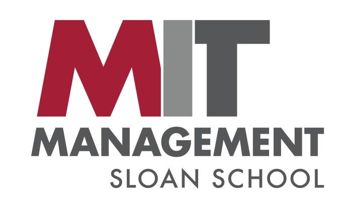 MIT Management Sloan School logo