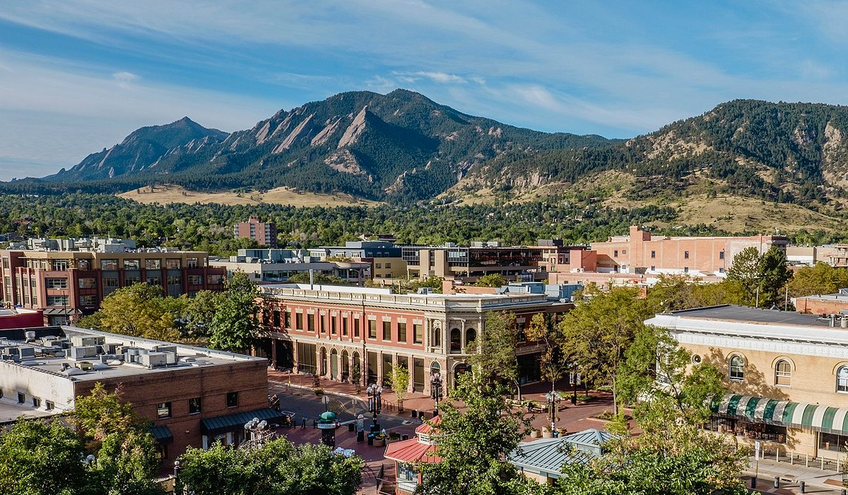 photo of Boulder, Colorado downtown