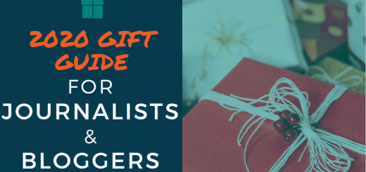 2020 Gift Guide for Journalists and Bloggers