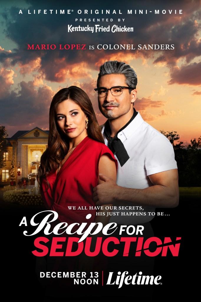 Poster for Lifetime Original Mini-Movie presented by KFC - A Recipe for Seduction