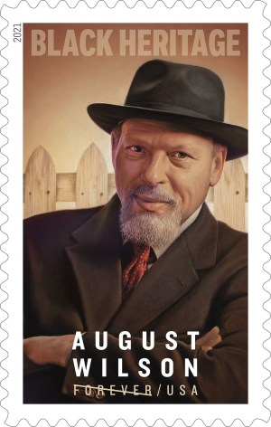 USPS August Wilson Forever Stamp