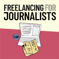 Freelancing for Journalists podcast logo