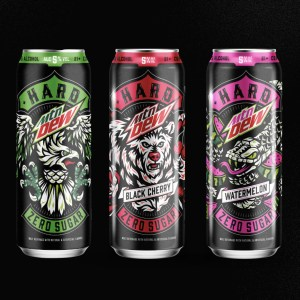 Boston Beer Company HARD MTN DEW alcoholic beverage