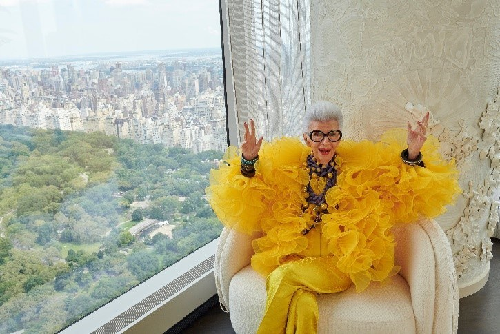 H&M Announces Collaboration With Fashion Icon Iris Apfel