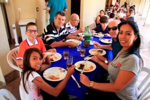 Atividade com famílias