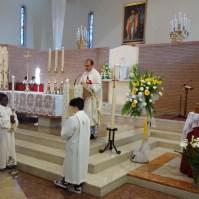 Messa di azione di grazia per il centenario delle apparizioni della Madonna a Fatima a Oriago (VE)-012