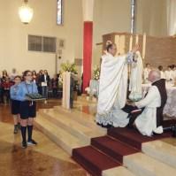 Messa di azione di grazia per il centenario delle apparizioni della Madonna a Fatima a Oriago (VE)-016