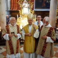 Celebrazione della Madonna del Carmine a Venezia.-023