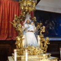 Celebrazione della Madonna del Carmine a Venezia.-025