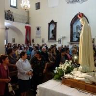 Madonna di Fatima, Pellegrina, Araldi del Vangelo, Parrocchia Santa Maria Assunta, Montemurro (PZ)-005