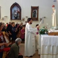 Madonna di Fatima, Pellegrina, Araldi del Vangelo, Parrocchia Santa Maria Assunta, Montemurro (PZ)-026
