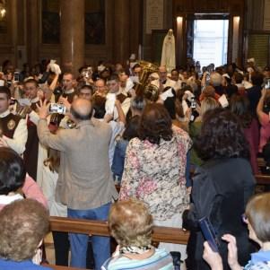Chiusura del centenario delle apparizioni di Fatima a Messina-001