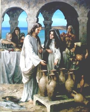 Maria nas bodas de Caná