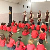 Aspecto do concerto no Centro Educacional Interativo 3