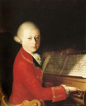 Mozart infancia