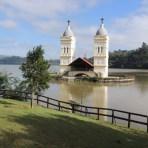 Igreja submersa na barragem de Itá - SC