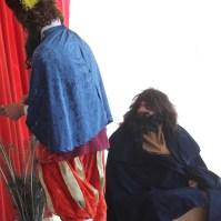 Tempos depois, passado anos o mesmo modelo, já decaído moralmente, serviu como exemplo de Judas