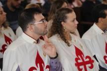 Terciários assistindo ao sermão