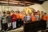 Missa Nossa Senhora Aparecida Casa Ramo Masculino