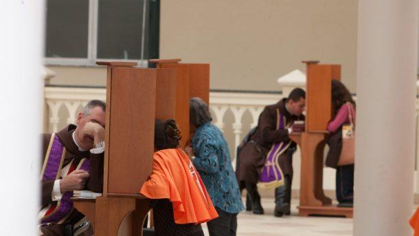 Primeiro Sábado na Basílica de Nossa Senhora do Rosário, Caieiras SP; Situada no Seminário Menor dos Arautos do Evangelho