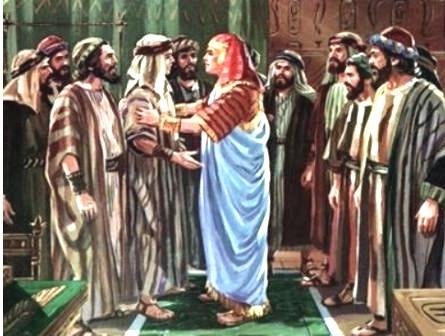 José perdoa os irmãos que o haviam vendido