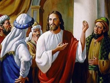 """Jesus e os fariseus: """"passarão os céus e a terra, mas minhas palavras jamais"""""""
