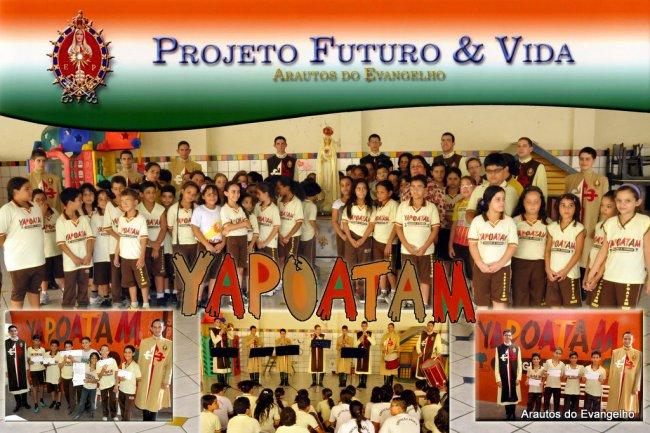 Projeto Futuro & Vida no Yapoatam Colégio e Curso