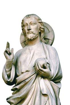 Jesus abençoando (Sante Chapelle)
