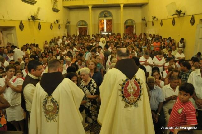 Missa de encerramento da Missão Mariana em São Lourenço da Mata