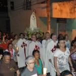 Procissão de encerramento da missão dos Arautos do Evangelho na Paróquia de São Lucas (Olinda - PE)