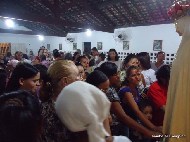 Visita da imagem peregrina em Cajueiro Seco (Jaboatão dos Guararapes - PE)