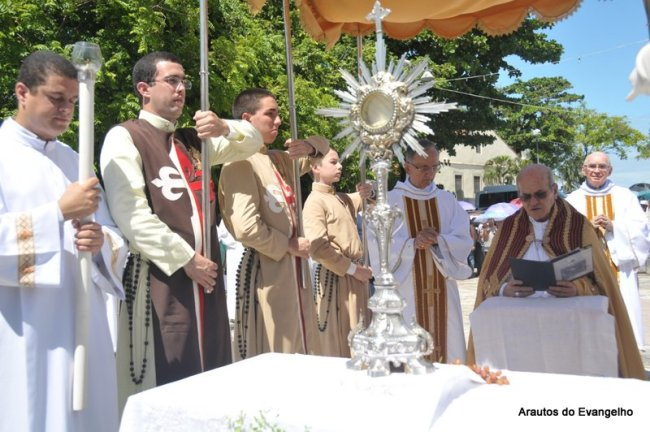 Procissão de Corpus Christi em Olinda, Pernambuco