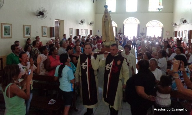 Missão dos Arautos do Evangelho em São Benedito do Sul