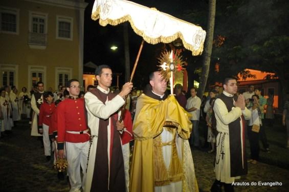 Procissão de Corpus Christi - Arautos do Evangelho Recife