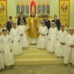 Primeira Comunhão na sede dos Arautos do Evangelho de Recife