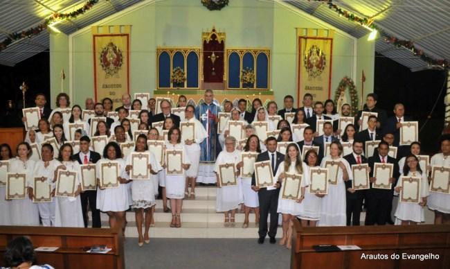 Consagração a Nossa Senhora - Arautos do Evangelho - Recife - Dezembro 2017