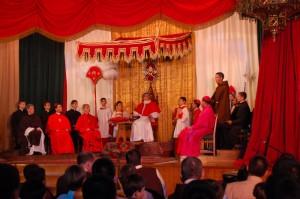 Proclamação do Dogma da Infalibilidade Pontícia - Teatro apresentado no Curso de Formação dos Arautos do Evangelho em 2010